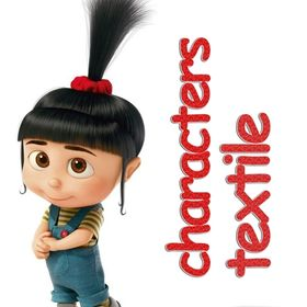 Characters Textile