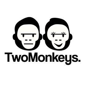 Two Monkeys Cycling