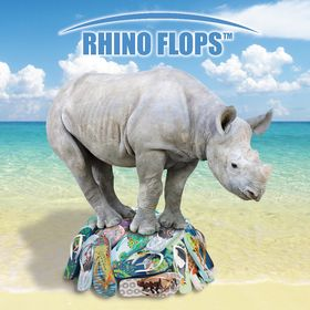 9202283fa Rhino Flops - Flip Flops for Amazing People (rhinoflops) on Pinterest