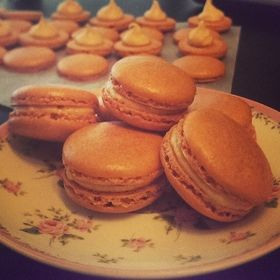 Baked Cupcakes and Macarons