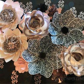 Floret paper art