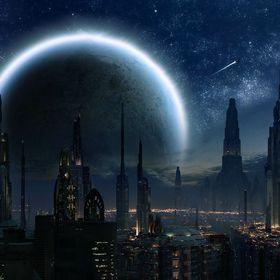 Ancient Wizard Sci-Fi World