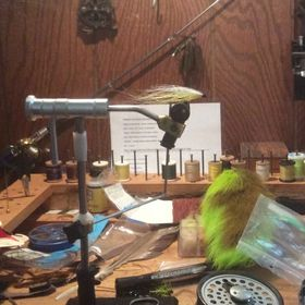 JW's fly tying