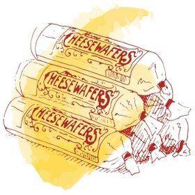 Mamie's Famous Cheese Wafers