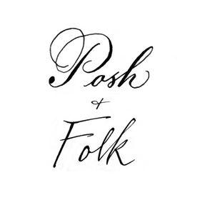 Posh+Folk