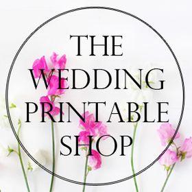 The Wedding Printable Shop