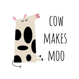 Cow makes MOO