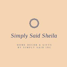 Simply Said Sheila