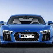 Fast beautiful sport car