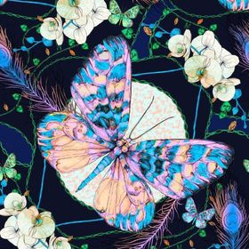 Mrs Grossman  BUTTERFLIES SPARKLE Butterfly  2004 Stickers