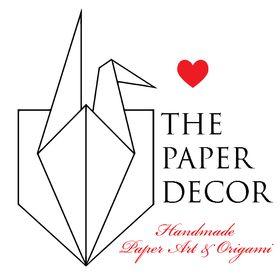 ThePaperDecor Origami & Paper Art