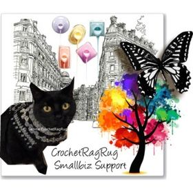 CrochetRagRug Marketing Support
