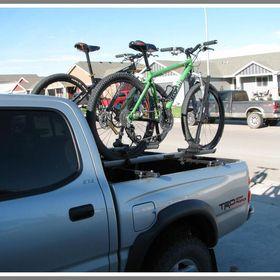 truck bed bike rack pickup
