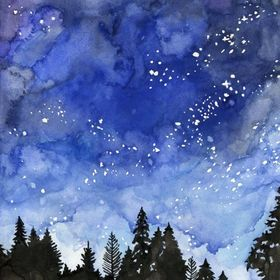 nuage bleu