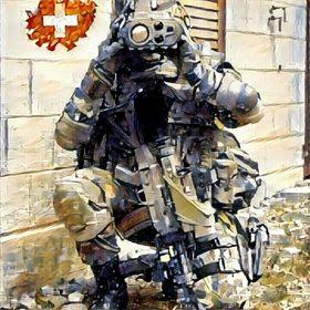 Propper BDU Kurze Hose Zip Fly Taktisch Herren Armee Arbeit Uniforme Dunkel Navy