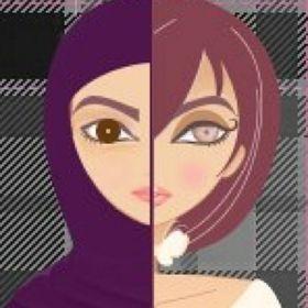 مسلمة جوة وبرة