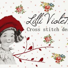 Lilli Violette Cross Stitch