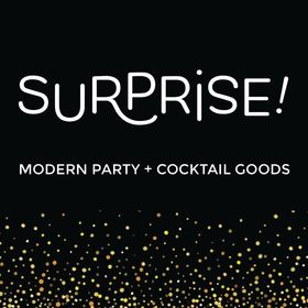 Surprise Modern Party + Cocktail Goods