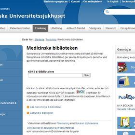 Medicinska bibliotek -Medical Library
