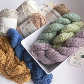 Wool & Cotton Road (natural wool and organic cotton yarns)