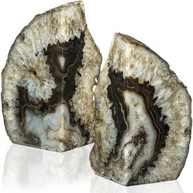 BGD Geode Bookends I Stone Bookends bookends I ideas bookends diy