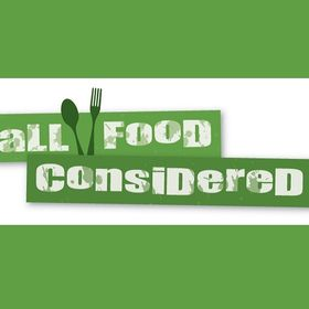 All Food Considered