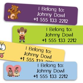 Stickerkid Name Labels