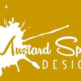 Mustard Splatter Design
