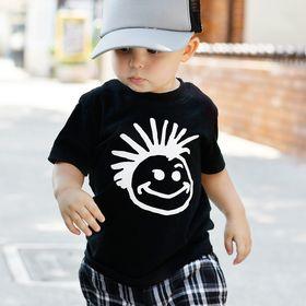 SHIRT1-KIDS Grunge British Flag Toddler//Infant Crew Neck Short Sleeve Shirt Tee Jersey for Toddlers