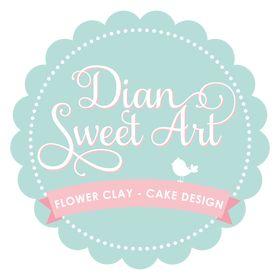 dian flower clay & cake design (marda)