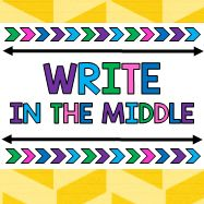Write in the Middle