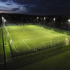 Synthetic Grass Football Pitch