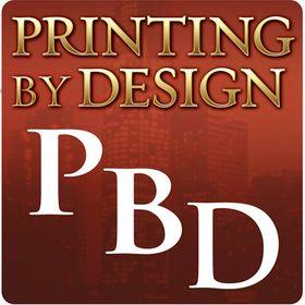 Printing By Design