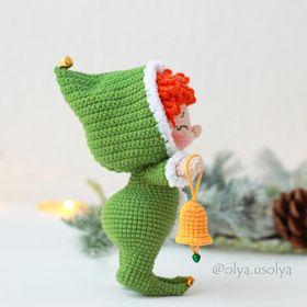 Olya Usolya Amigurumi Artist | Detailed CROCHET PATTERNS of toys