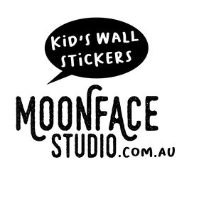 Moonface Studio - Wall Stickers to decorate  kid's bedrooms, nursery or playroom.