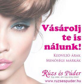 Rúzs és Púder - Kozmetikai webáruház