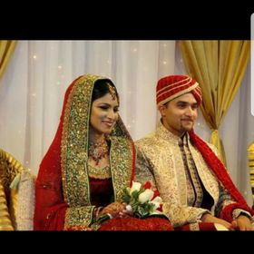 Sadia Khan Wedding Pics With Husband