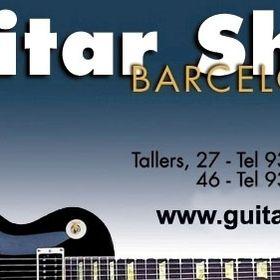 Guitarshop Barcelona