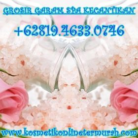 Grosir Garam Spa Kecantikan