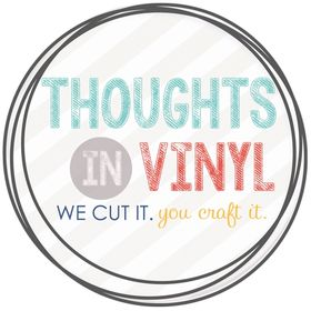 Thoughts in Vinyl = Wood Letters and Crafts and Vinyl Lettering