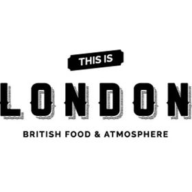 This is London - British food and atmosphere