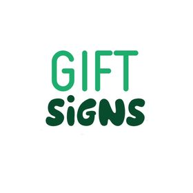 Gift Signs