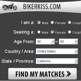 BikerKiss.com - #1 Biker Dating Site