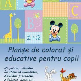 Planse De Colorat Si Educative Copii Plansedecolorat On