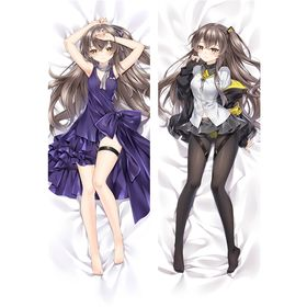Demon Slayer Hashira Mitsuri Kanroji Ver.2 150*50 CM Dakimakura Body Pillow Case