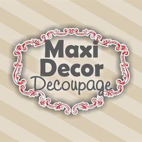 MaxiDecor Decoupage