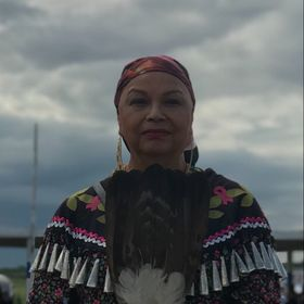 """Flying Eagle """"Margaret Judy Kakenowash Azure"""""""