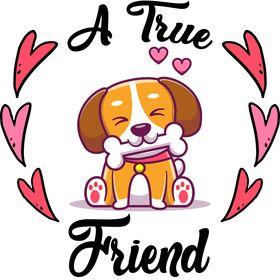A True Friend ( Dogs Lovers )