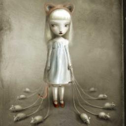 ghost kitten