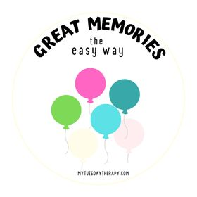 Great Memories - MyTuesdayTherapy.com